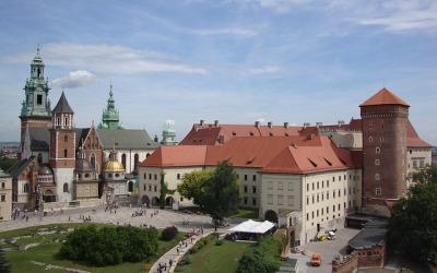 Wawel Hill in Krakow