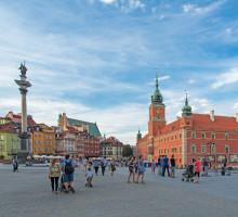 Varsavia, piazza del Castello