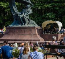 Varsavia, Parco Reale Lazienki