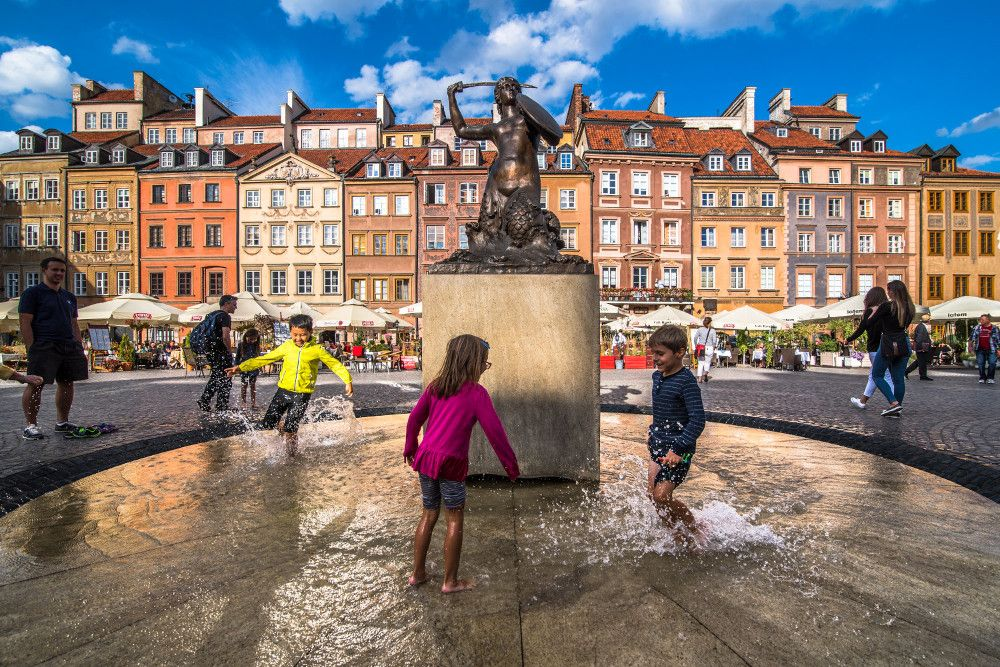 Varsavia, Città vecchia